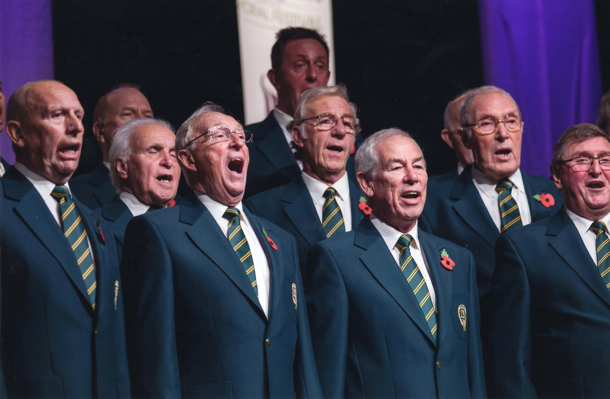 The Daleian Singers Choir performance